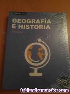 Libros 1º eso geografia y plastica la enseñanza nuevos