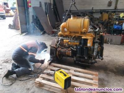 Preparación y envío de motores