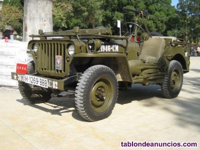 Jeep willy´s, modelo M.B., 2º G. Mundial