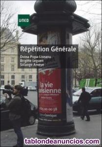 Vendo libro de francés, lengua moderna; asignatura optativa para varios grados