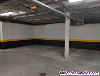Se alquilan plazas de garaje