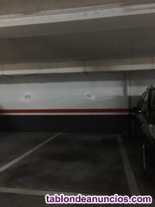 Se alquila plaza de garaje