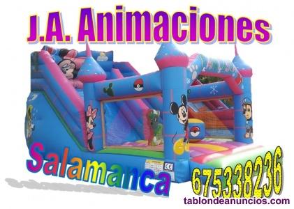 Castillos hinchables en Salamanca J.A. Animaciones