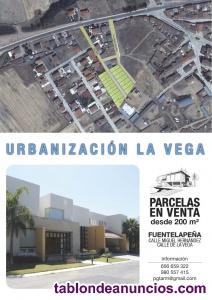 Venta de solar urbano en conjunto o por parcelas