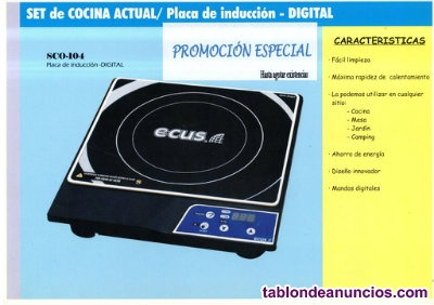 Ocasdion nueva a estrenar placa induccion digital portatil