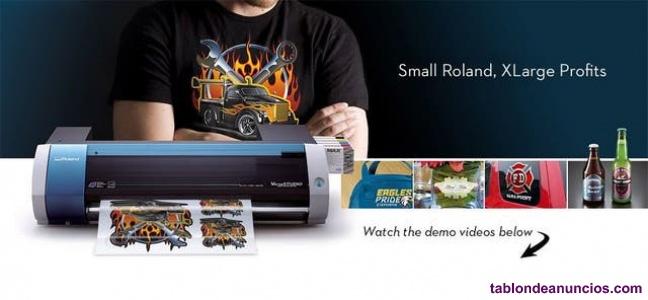 Impresora Plotter Roland bn20 más Ricoh A3 sublimación