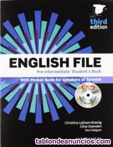 Manual de inglés, primer curso de b1, eoi