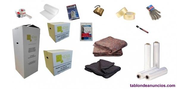 Material embalaje mudanzas alta resistencia