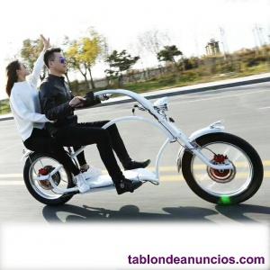 Moto electrica bobber