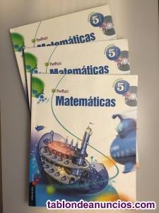 Lengua y matemáticas 5º primaria edelvives