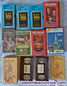 Cintas de vídeo VHS