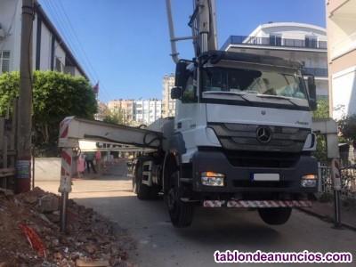 Bomba de hormigón cifa 38m sob camión mercedes axor 3340