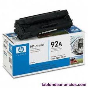 Toner hp laserjet 92a / negro.