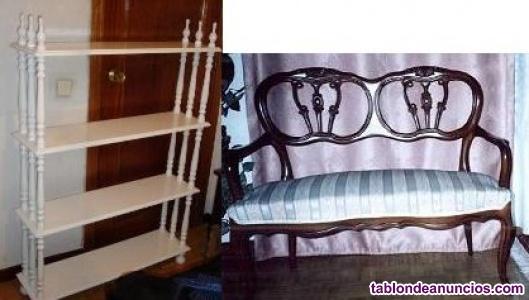 Estantería + Sofa-Canape