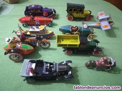 Coleccion de 20 juguetes paya. Hojalata