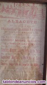 Cartel toros 1925