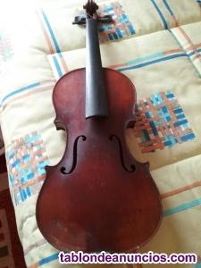 Violin Mirencour finales siglo XIX