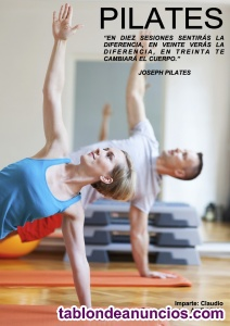 Monitor de pilates - clases on line