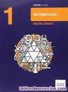 Libro 1º Bachillerato Matemáticas.