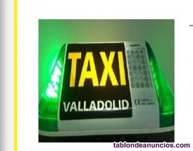 Venta licencia de taxi en valladolid