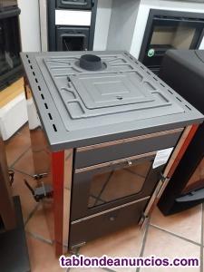 Liquido caldera de leña 25kw para conectar a radiadores.