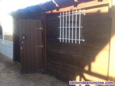 Casa de madera de 5x3,5 metros en sevilla