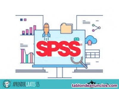 Academia autonomía del programa spss, y estadistica