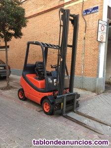 Linde modelo h16, diesel