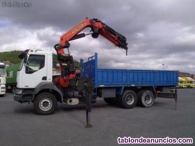 Conductor camion grua