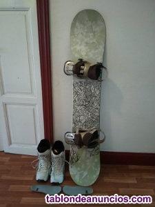 Conjunto de snowboard