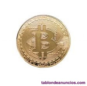 Se vende moneda fisica Bitcoin