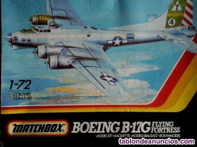 Maqueta Bombardero B 17