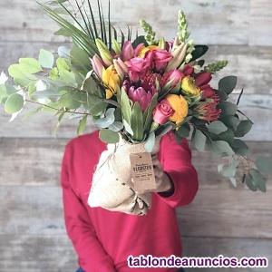Socio app/web venta de flores online