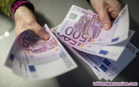 Oferta y la ayuda de préstamo rápido y fiable