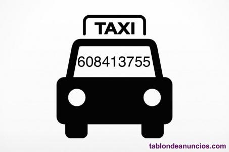 Taxi, chofer privado para desplazamientos 24h