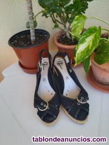 Zapato de vestir verano bata, talla 38