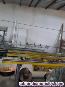 Venta de maquinaria y herramientas carpinteria de aluminio