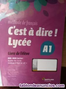 Venta de 2 libros de texto del instituto frances curso J1S (A1)