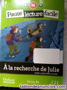 Venta de 2 libros de lectura de frances Nivel A-1