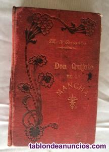 Don quijote de la mancha. Más de 100 años. Editorial maucci 1901