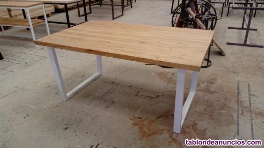 Mesas de comedor madera rústica