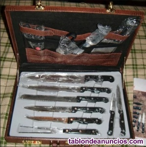 Maletín de cuchillos Solingen