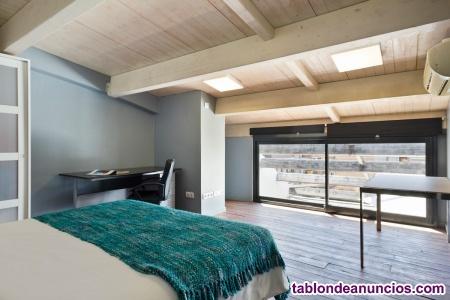 Dúplex tipo ático en sarria para estancias largas con terraza privada! p18.3.1