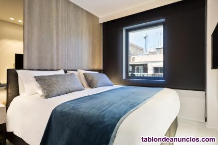 Hermoso apartamento de lujo en el puerto de barcelona con terraza para 4