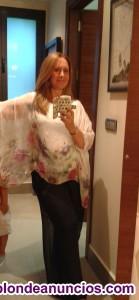 Blusa seda talla 46