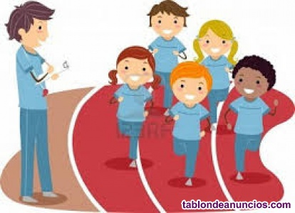 Preparador educación física primaria