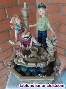 Fuente de cerámica eléctrica