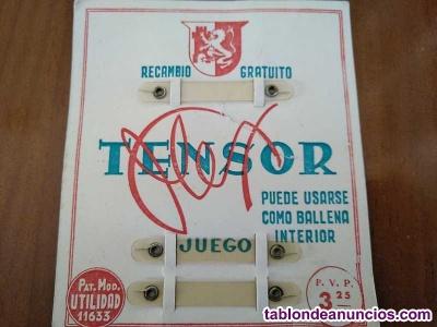 Antiguo tensor flex ballena cuellos de camisa tensolapa pat. Mod. Utilidad 11635