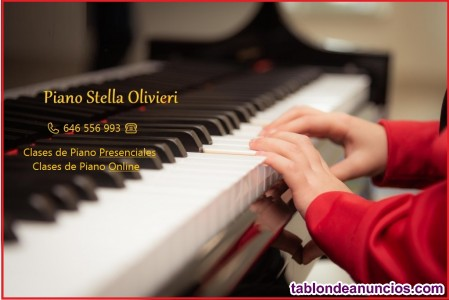 Clases de piano en oviedo y alrededores