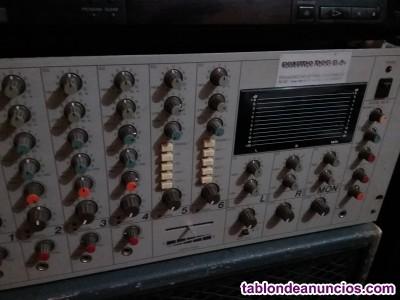 Mezclador autoamplificado BELL MDA 624